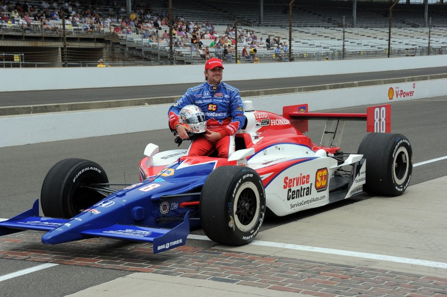 Jay Howard Indianapolis Motor Speedway